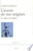 illustration L'avenir de nos origines