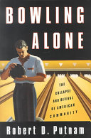 Ebook Bowling alone Epub Robert D. Putnam Apps Read Mobile