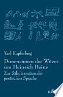 Dimensionen des Witzes um Heinrich Heine