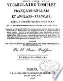 Vocabulaire complet français-anglais et anglais-français