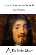 Poems of Henry Vaughan