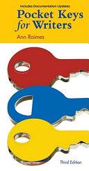 Pocket Keys for Writers  Documentation Update
