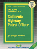 California Highway Patrol Officer