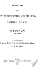 Ebook Rudiments of the art of constructing and repairing common roads Epub Henry Law,Samuel Hughes Apps Read Mobile