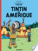 couverture Tintin en Amérique