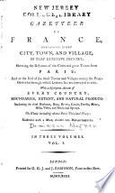 A Gazetteer of France