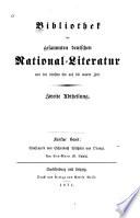 Ueber Wolfram's von Eschenbach Rittergedicht Wilhelm von Orange und sein Verhältniss zu den altfranzösischen Dichtungen gleiches Inhalts