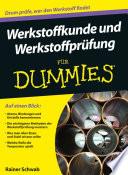Werkstoffkunde und Werkstoffpr  fung f  r Dummies