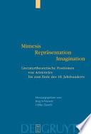 Mimesis  Repr  sentation  Imagination