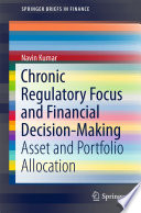 Chronic Regulatory Focus And Financial Decision Making