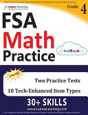 FSA Test Prep: 4th Grade Math Practice Workbook and Full-length Online Assessments