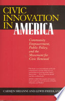 Civic Innovation in America