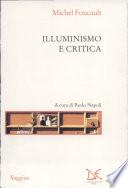 Illuminismo e critica