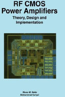 download ebook rf cmos power amplifiers: theory, design and implementation pdf epub