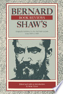 Bernard Shaw's Book Reviews Efforts Reveal Much Not Only About The Writer But