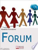 Forum  Come Creare una Community di Successo   Ebook Italiano   Anteprima Gratis