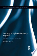 Disability in Eighteenth century England