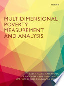Multidimensional Poverty Measurement And Analysis book