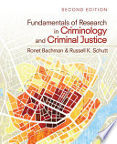 Fundamentals of Research in Criminology and Criminal Justice