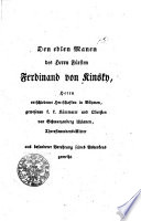 Staatsgeschichte von Böhmen und seinen Kronländern