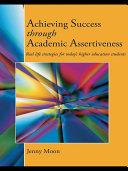download ebook achieving success through academic assertiveness pdf epub