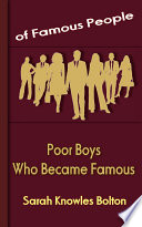 Poor Boys Who Became Famous
