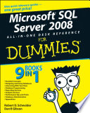 Microsoft SQL Server 2008 All in One Desk Reference For Dummies