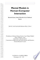 Mental Models In Human Computer Interaction