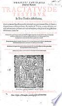 Prosperi Farinacii ... Tractatus de testibus ... Post auctoris tertio iteratam, et pluribus additionibus illustratam editionem diligenter a mendis Venetianis castigatus, etc