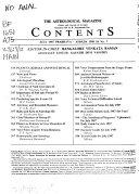 Astrological Magazine