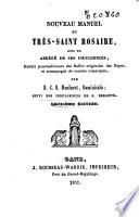 Nouveau manuel du très-saint Rosaire