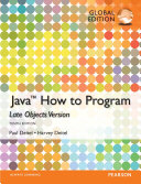 Java  How to Program  Late Objects   Global Edition