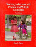 Teaching Individuals with Physical and Multiple Disabilities