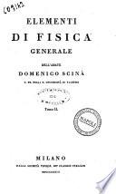 Elementi di fisica generale dell abate Domenico Scin