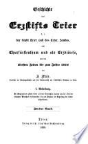 Geschichte des Erzstifts Trier