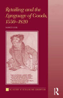 download ebook retailing and the language of goods, 1550–1820 pdf epub