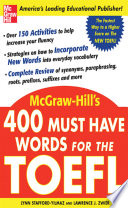 400 Must-Have Words For The TOEFL : wish to study at a university...