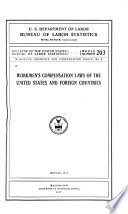 Workmen's Compensation Laws of the United States and Foreign Countries