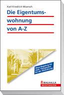 E-Book Die Eigentumswohnung von A-Z
