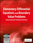 Elementary Differential Equations And Boundary Value Problems 9th Ed