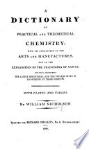 A Dictionary Of Practical And Theoretical Chemistry [Pdf/ePub] eBook