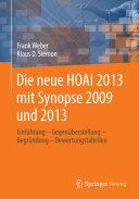 Die neue HOAI 2013 mit Synopse 2009 und 2013