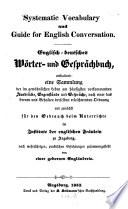 Englisch deutsches W  rter  und Gespr  chsbuch