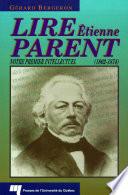 Lire   tienne Parent  1802 1874