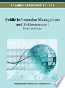 Public Information Management and E Government