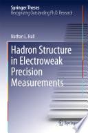 Hadron Structure in Electroweak Precision Measurements