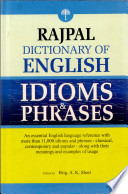 Ebook Rajpal Dictionary Of English Idioms & Phrases Epub Shori,A K Apps Read Mobile