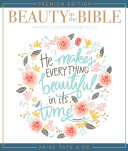 Beauty in the Bible Adult Coloring Book