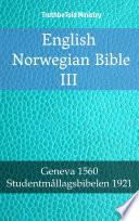 English Norwegian Bible III