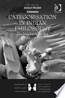 Categorisation In Indian Philosophy book